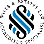 Wills estate accredited logo
