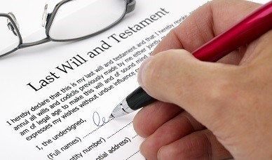Signing Last Will and Testament | Unfair WIlls